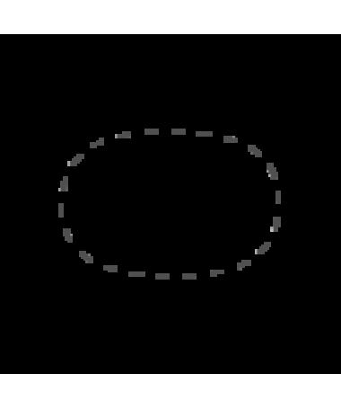 Oval / Superellipse dug af bomulds damask Damaskduge maaho