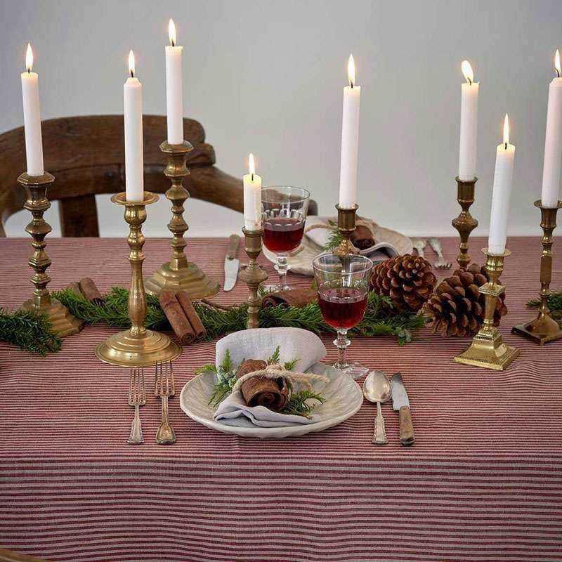 Santa Hør Juledug Duge efter mål maaho