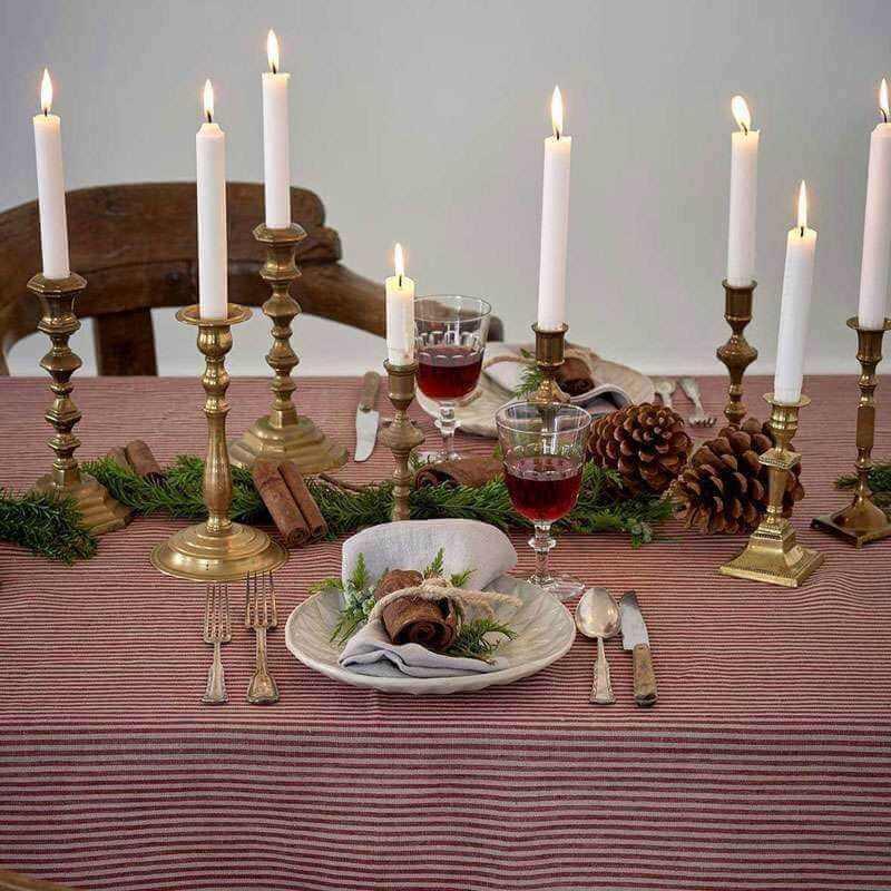 Santa Hør Juledug Duge maaho